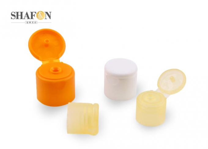 Various Sizes Cosmetic Bottle Caps PP Material Heat Resistance Smooth Closure