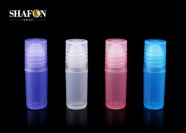 Four Colors Mini Refillable Perfume Pen With Lid 3ml PP Material Sprayer Pump Sealing