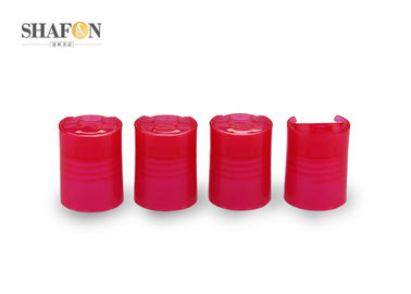 24 / 415 Red Cosmetic Bottle Caps For Cosmetic PP Material Customized Design