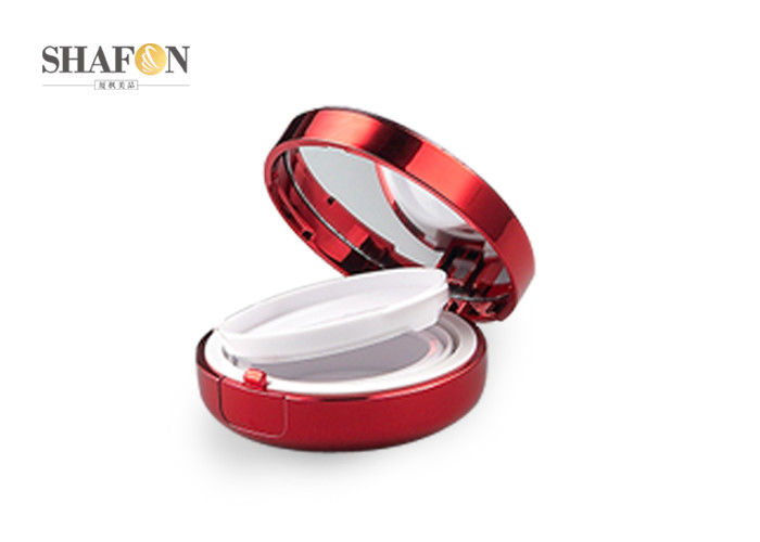 Custom Empty Air Cushion Compact Case For Luxury Cosmetics ISO 9000 Certification