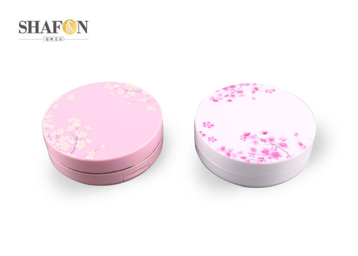 ABS Cosmetic Powder Empty Air Cushion Compact 15g Colorful With Logo Printing