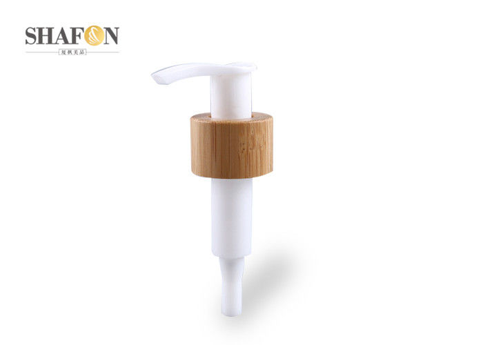 Smooth Plastic Lotion Pump For Shampoo Bottle White Color Eco - Friendly