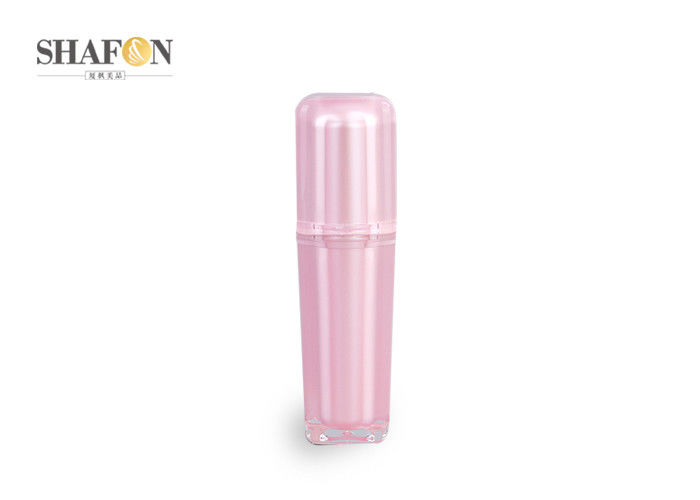 Beautiful Empty Acrylic Lotion Bottle Anti - Aged 139mm Height For Cosmetics