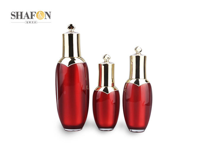 Decorative Cosmetic Empty Pump Bottles For Face Cream Classic Type OEM