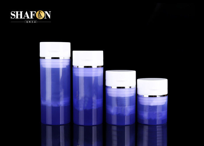 Airless Makeup Pots Jars , Plastic Cosmetic Jars With Lids Various Capacity